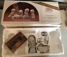 PRECIOUS MOMENTS THE NATIVITY figurine set 104000 Come Let Us Adore Him