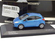 Minichamps 1/43 - Ford KA Azul Metal