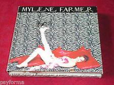 MYLENE FARMER Les Mots / DOUBLE CD Digipack Forme croix + Livret / Edition RARE