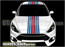 Ford Martini OTT002 racing stripes vinyl graphics stickers Fiesta Ka Focus