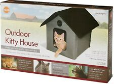 K&H Pet Products Outdoor Kitty House Unheated - Gray Kh3997