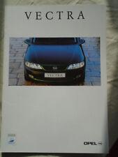 Opel Vectra range brochure Aug 1997 English text