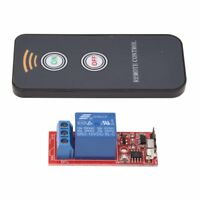 Relay Module 1 channel Remote Control Switch Wireless IR 12V DC N4R4