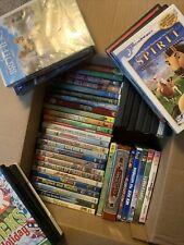 Huge Kids DVD Lot! 50 + DVDs Free Shipping!