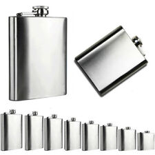 Hip Flask Stainless Steel Flagon High Quality Portable Wine Whisky Pot Drinkware