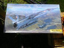 HELLER Kit plastique 1:48 AVION MIRAGE IV P ETAT NEUF, BOITE SOUS FILM PLASTIQUE