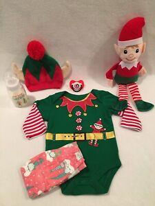 Reborn Baby Doll Elf Set W/accs-bottle-pacifier