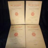 Nice Historique 4 revues Année 1977