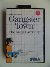 SEGA Master System Gangster Town Complete fully working USA