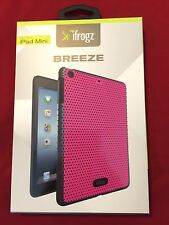 iFrogz Breeze Pink Perforated Gel Case - fits iPad mini 1 2 3 - Retail $30