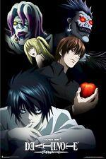 DEATH NOTE POSTER ~ APPLE CAST 24x36 Anime Manga Light Yagami