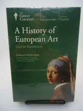 A History Of European Art Great Courses William Kloss BOOK/8 DVD NEW