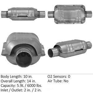 Catalytic Converter-Universal Eastern Mfg 70316