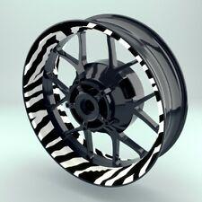 """Felgenaufkleber Felgenrandaufkleber Premium Wheelsticker """"Zebra"""""""