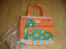 Boys Company Kids Personalized Tote Bag Ryan Dinosaur Daycare Preschool New