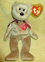 TY  Beanie Baby 1999 Signature Bear  MWMT Free Shipping