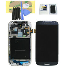 DISPLAY LCD TOUCH SCREEN + FRAME per SAMSUNG GALAXY S4 i9505 BLU MARINO SCHERMO