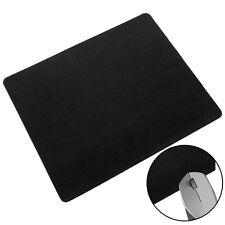 Schwarzes Rechteck Anti-Rutsch-Laptop Mäuse-Auflage-Matte Mousepad Tastatur #