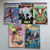 Lot of 5 Deadman (1986 2nd Series) #1-4 (1985 1st Series) #5 VF Very Fine