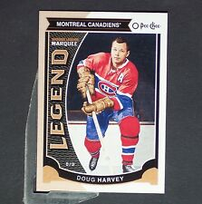DOUG HARVEY  2015/16 OPeeChee  Legend #595  Montreal Canadiens