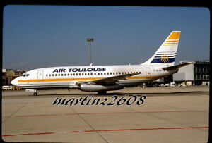 ORIG. AVIATION / AIRLINE SLIDE  AIR TOULOUSE  F-GLXH