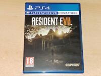 Resident Evil Biohazard PS4 Playstation 4 VR Compatible **FREE UK POSTAGE**