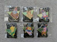 Disney D23 MOG WDI Adventures Of Gummi Bears 6 Pin Complete Set LE 300