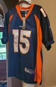 Tim Tebow Denver Broncos Jersey Reebok OnField Sz 48 Men's Home Colors NEW NWT