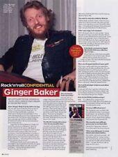 Ginger Baker Cream a retrospective Interview
