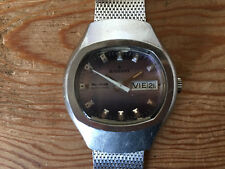 Used - Vintage Watch Reloj RADIANT Blumar Automatic Day Date - It works Funciona
