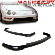 For 98-01 Acura Integra DC2 ITR JDM TR Style Front Bumper Chin Lip Urethane