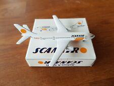 Schabak 1:600 Scanair Airbus A300 OVP Flugzeugmodell