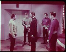Star Trek TOS 35mm Film Clip Slide Savage Curtain Kirk Spock Lincoln 3.22.43