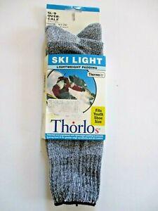 Thorlos Thermolite Ski Sock Snowsport Over Calf Padded Women 4-6 Youth 13-4 NIP
