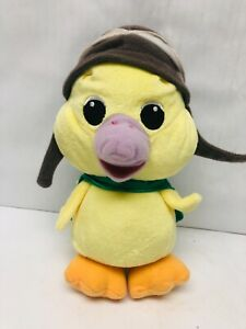 """Wonder Pets Ming Ming Duck Plush Stuffed Animal 2008 Fisher Price 9"""" with Cape"""