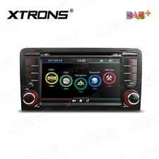 "AUTORADIO 7"" DAB+ Audi A3 S3 RS3 8P 2003-2013 radio dvd bluetooth screen mirror"