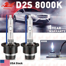 2x 8000K Ice Blue D2S D2R D2C HID Xenon Bulbs Factory Replacement OEM Headlight