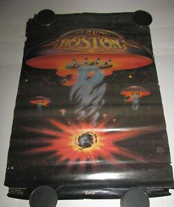 Boston Vintage Poster American rock group 1978 Tour Roger Huyssen B