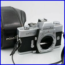 MINOLTA SRT 101 reflex camera macchina fotografica vintage 35mm SRT101 MD mount