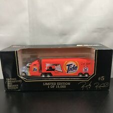 NASCAR 1993 Racing Champions 1:87 Transporter Stock Car #5 Tide Ricky Rudd Truck