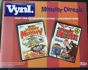 FUNKO VYNL Yummy Mummy & Fruit Brute Monster Cereals Summer Convention HALLOWEEN