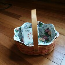 Longaberger 1999 Mother's Day Tea For Two Basket Combo