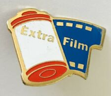 Extra Film Camera Advertising Pin Badge Retro (C13)