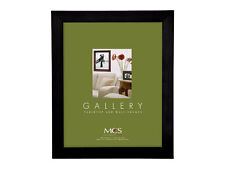 MCS 8x10 Gallery Flat Top Black Wood Picture Frame (Same Shipping Any Qty)