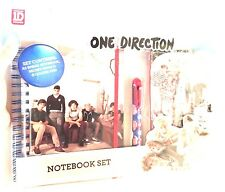 ONE Direction 1D A5 NOTEBOOK spirale blocco note Set con Lucchetto Diario segreto Harry