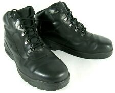Nike Men's Hiking Ankle Boots Black Leather Casual Lace ACG Trail 13M