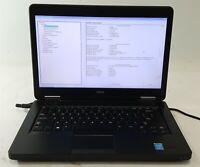 """Dell Latitude E5440 Laptop Computer i5 4th Gen. 256GB SSD 4GB 14"""" No OS/AC ***"""
