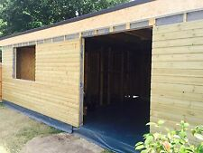 Shed garden Rooms Annexe Accommodation CHEAP Ascot Hook 5mx2m Insulated