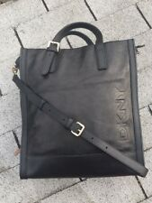 DKNY Black Genuine Leather Tote Handbag New Without Tags $150.00 Or Better Offer