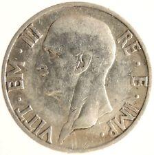 Moneta 5 Lire 1937 Impero Vittorio Emanuele III° Regno d'Italia